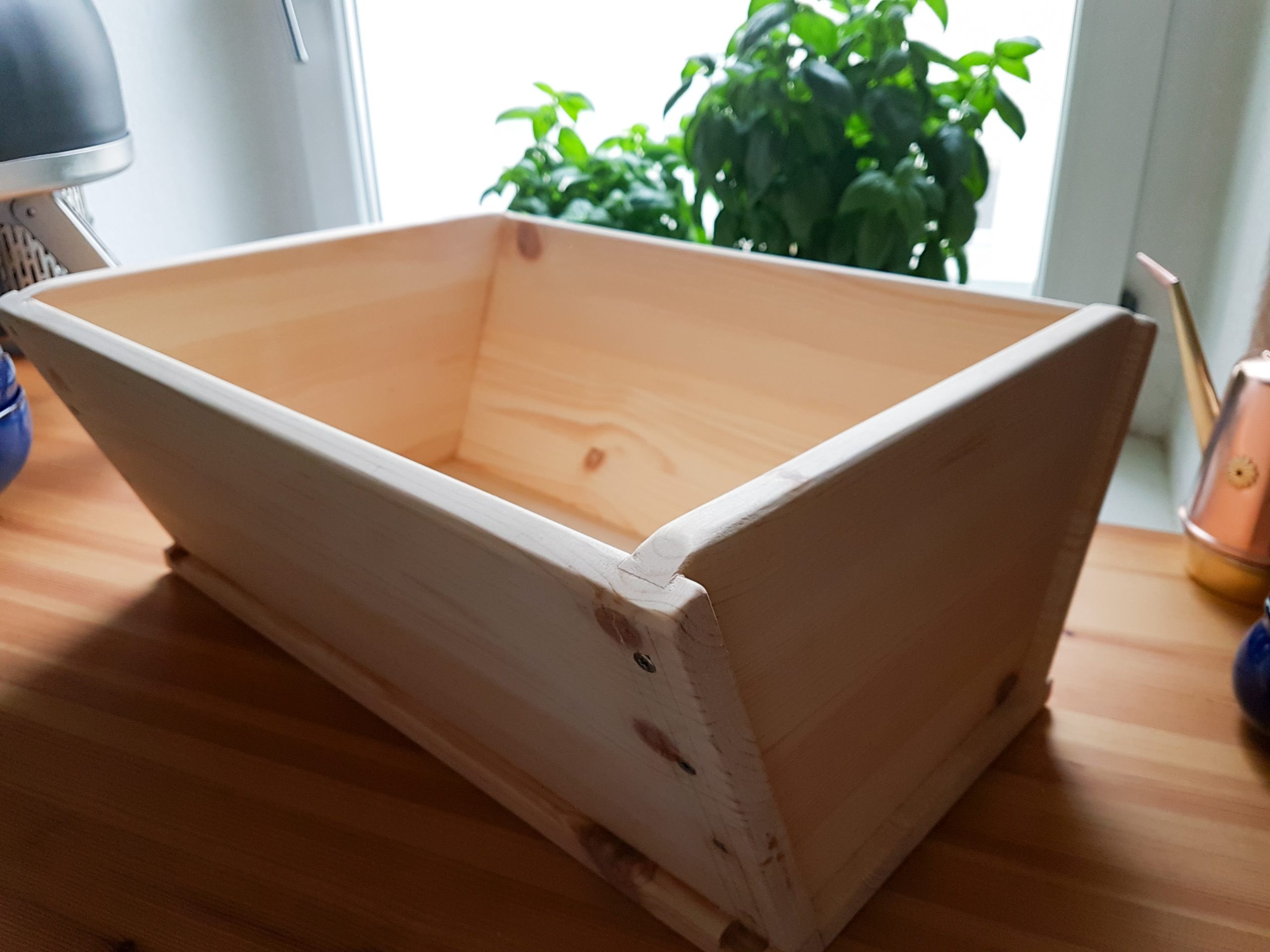 Madia (Wooden Dough/Bread Trough) for Pizza